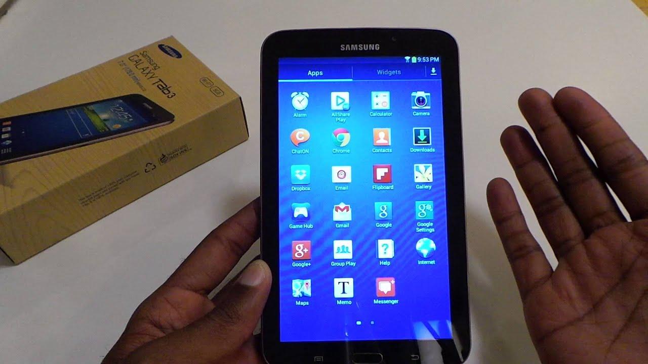 Samsung Galaxy Tab 3 Wifi (7 inch) Review
