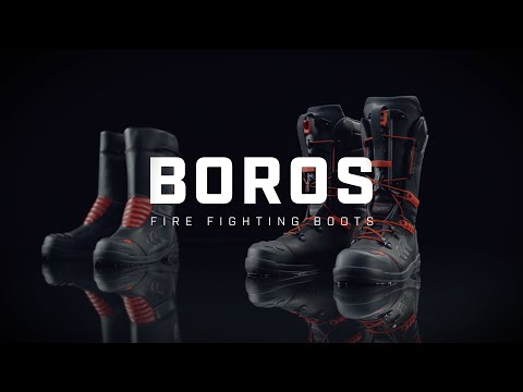 BOROS - Fire fighting boots from Rosenbauer