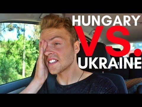 UKRAINE / HUNGARY BORDER CROSSING