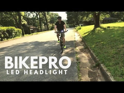 bikepro-led-headlight-from-harbor-freight---does-it-work?
