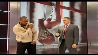 Video Roy Jones Jr demonstrates fight tactics for Floyd Mayweather & Manny Pacquiao 4/1/15 download MP3, 3GP, MP4, WEBM, AVI, FLV Oktober 2017