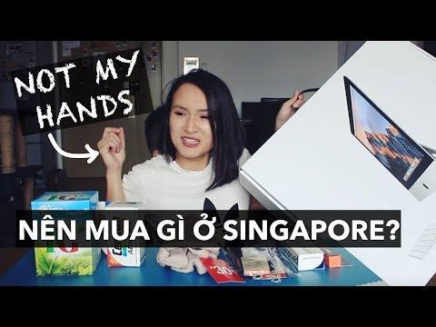 THỬ THÁCH NOT MY HANDS x NÊN MUA GÌ Ở SINGAPORE | Vlog | Giang Ơi
