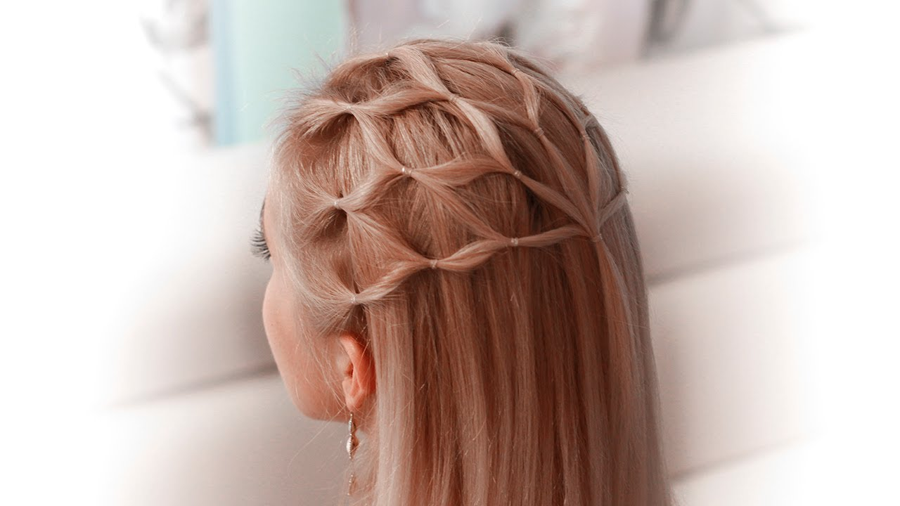Hair Net Tutorial Cute Hairstyle For A Princess Elf Fairy Goddess