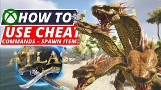 ATLAS XBOX Cheat Commands - Spawn Ships Creatures Items And More