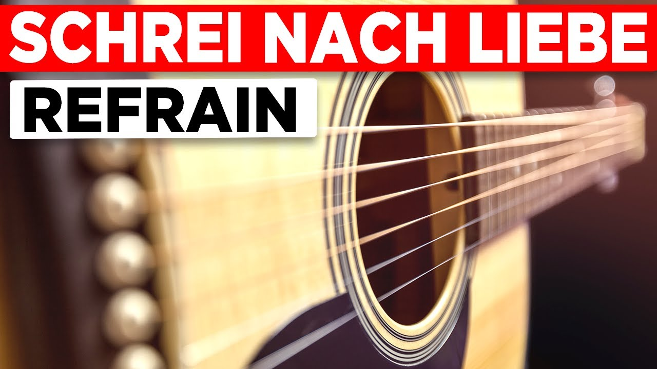 Die Ärzte - Schrei nach Liebe - Teil 3 - Gitarren Tutorial