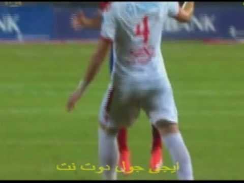 طرد احمد فتحى فى مباراة الاهلى والزمالك | كأس مصر 8-8-2016