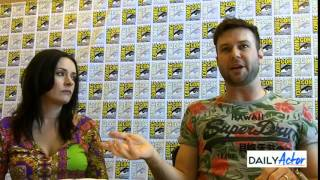 'Drunk History' Interview With Paget Brewster And Taran Killam