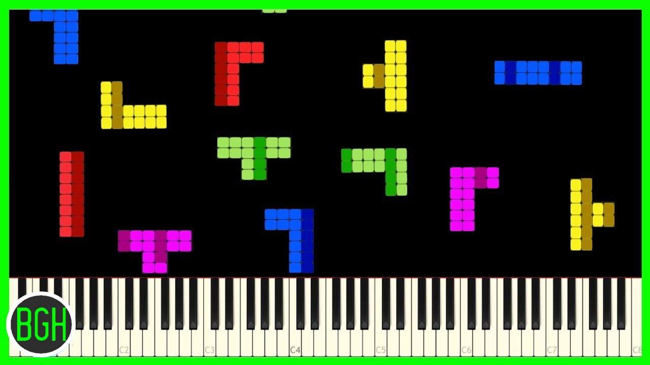 tetris theme a - PngLine