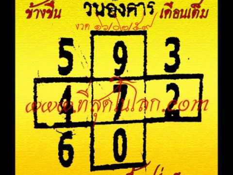 เลขเด็ดงวด 16 ก.พ. 59 หวยเด็ดงวด 16/02/59