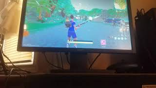 Getting killed in fortnite