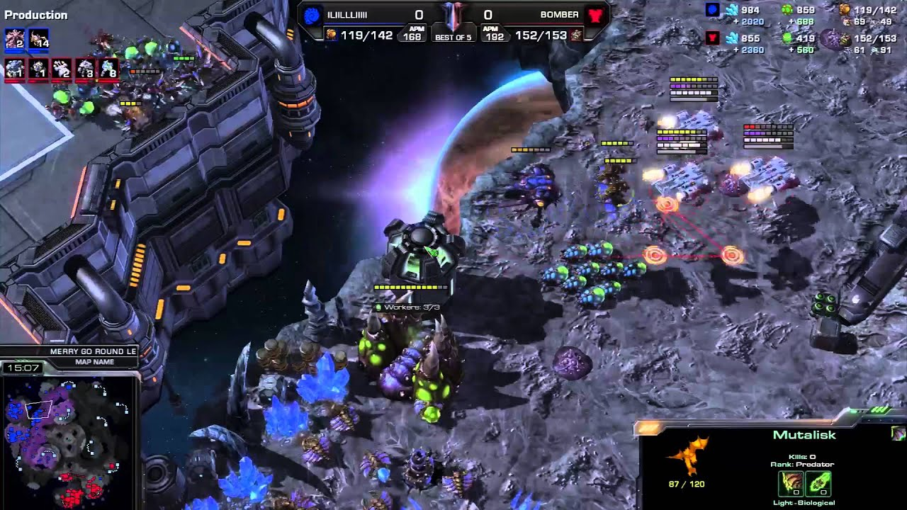 JaeDong vs. Bomber - Game 1 - WEC Korea Qualifier - StarCraft 2