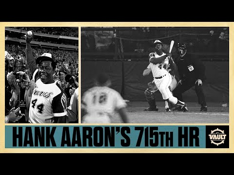 Hank Aaron's Historic 715th Home Run! Watch And Listen With The Legendary Vin Scully On The Call