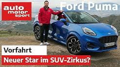 Ford Puma 2020: Die Raubkatze im Zirkus der Mini-SUV?  - Fahrbericht/Review | auto motor und sport