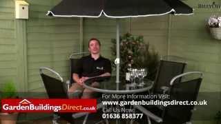 Billyoh Express 4 Seater Metal Garden Furniture Set