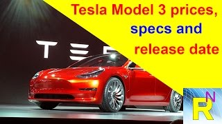 Car Review - Tesla Model 3 Prices, Specs And Release Date - Read Newspaper Tv