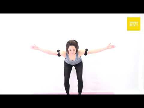 06菱形筋の加圧トレーニング(フィギュアT)