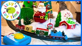 Happy Holidays! Thomas and Friends Bachmann Christmas Express! Fun Toy Trains for Kids