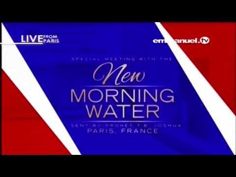 EMMANUEL TV   PARIS NEW MORNING WATER EVENT  24  02 2018  VIDEO 3 OF 9