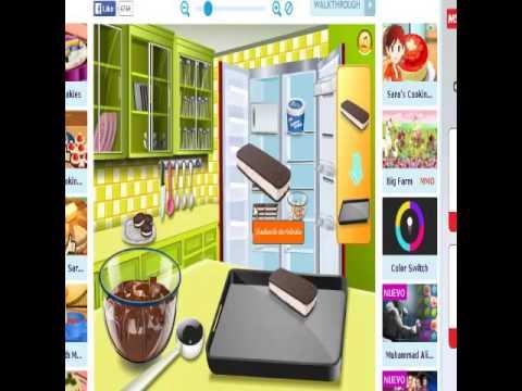 Jugar con sara a cocinar affordable los juegos de cocina for Cocina con sara casita de jengibre