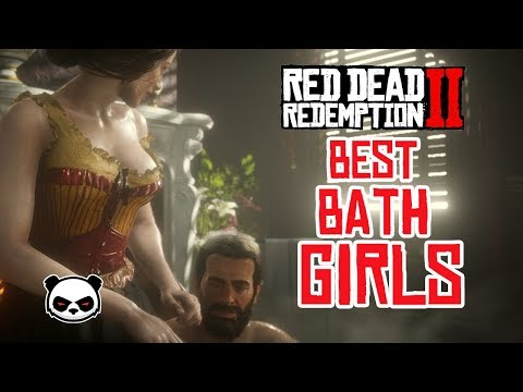 Red Dead Redemption 2 - Top 3 Bath Girls