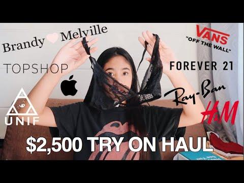 LA TRY-ON HAUL | Brandy, Unif, Vans, Apple, Hoaka Swim, etc.
