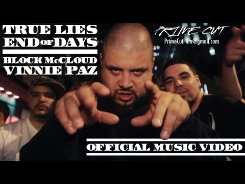 Block McCloud & Vinnie Paz - True Lies/End of Days [Official Music Video]