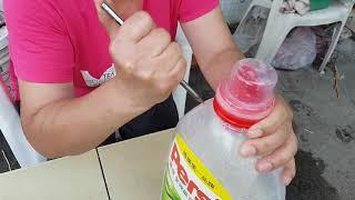(阿美美) 用寶特瓶做一個灑水器