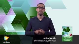 AngularJS : La manipulation des données : trailer | video2brain.com