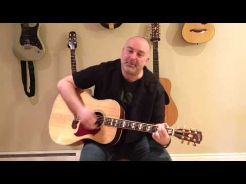 How to Play Stand By Me - Ben E. King (cover) - Easy 4 Chord Guitar Tune