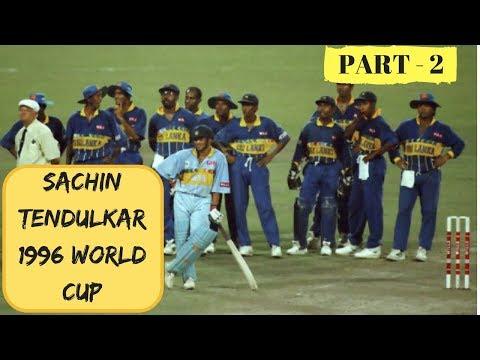 SACHIN TENDULKAR 1996 WORLD CUP |ONE MAN ARMY |Sachin Tendulkar Perfect Reply To Australia | PART 2