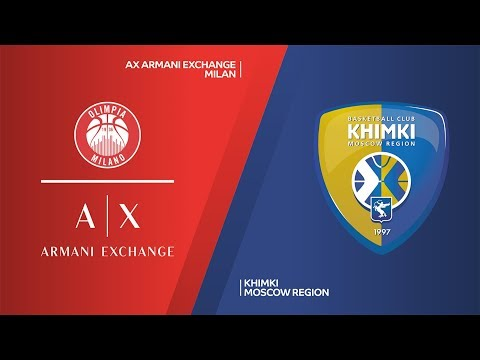 AX Armani Exchange Milan - Khimki Moscow Region Highlights | EuroLeague, RS Round 25