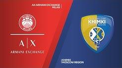 AX Armani Exchange Milan - Khimki Moscow Region Highlights   EuroLeague, RS Round 25