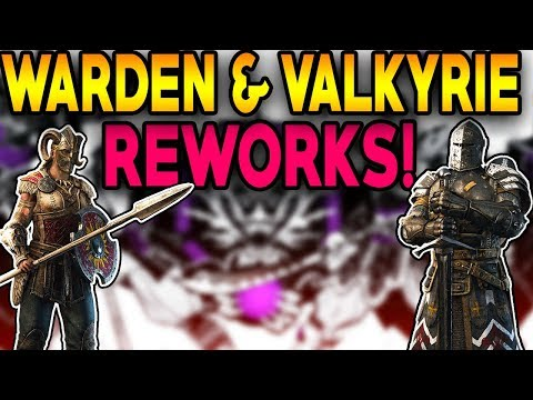 For Honor: LEAKED WARDEN & VALKYRIE REWORK MOVESETS CONFIRMED!