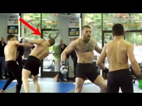 NEW Conor McGregor Sluggish Sparring Analysis