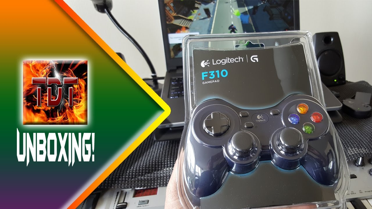 Logitech F310 Game Controller for PC Unboxing
