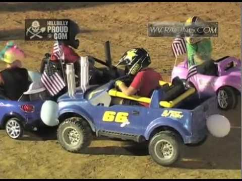 Kids Demo Derby #1 Kings of Karnage Tyler County Speedway July 2, 2016