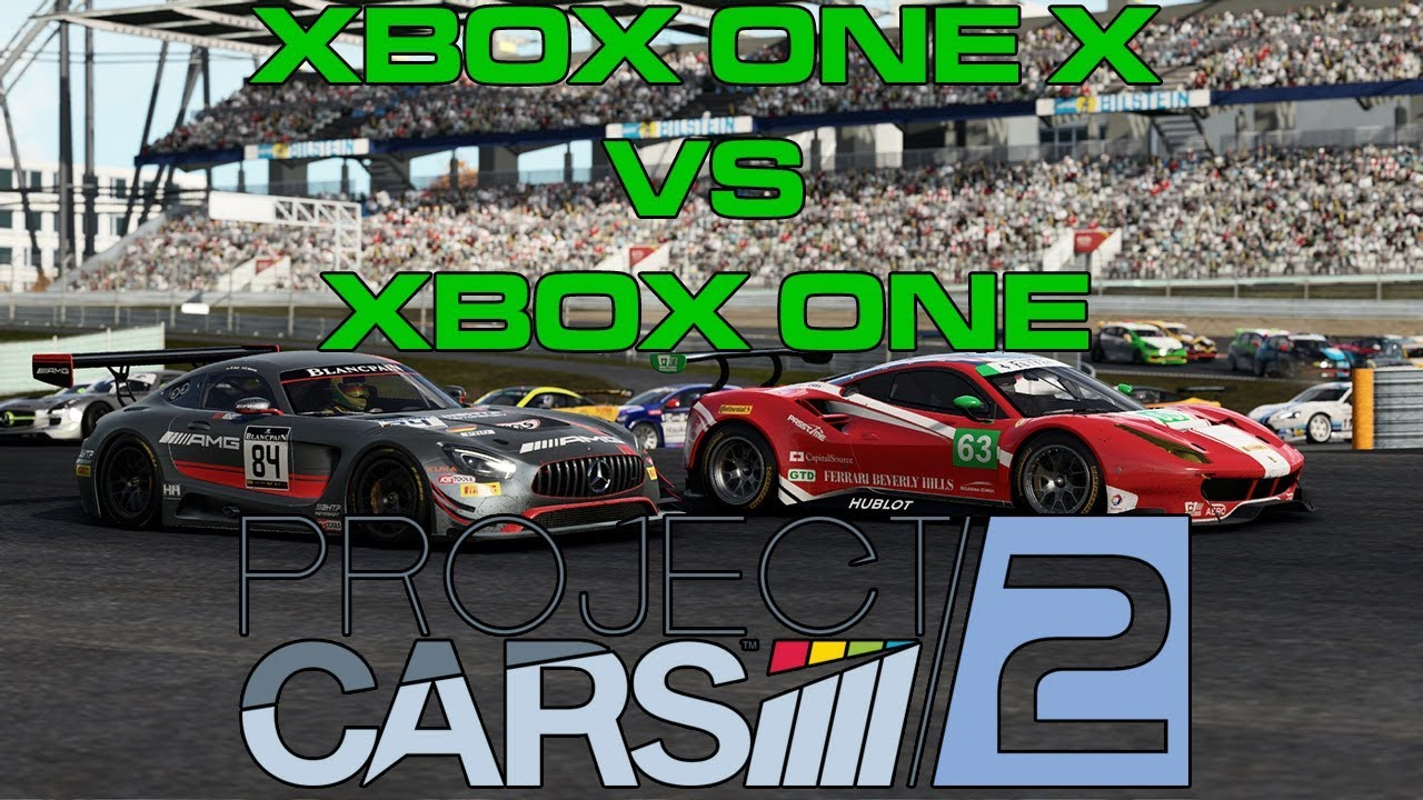 project cars 2 on xbox one x vs xbox one standard youtube. Black Bedroom Furniture Sets. Home Design Ideas