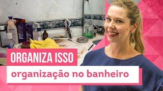 Como organizar banheiro - Truques da Rafa Oliveira - CASA DE VERDADE