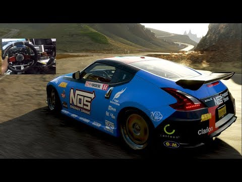 Forza Horizon 4 GoPro - Fortune Island FIRST IMPRESSIONS 370z Touge Drive!