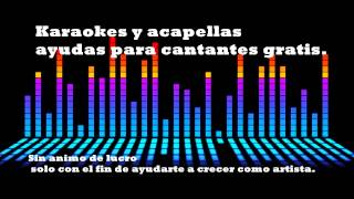 Amada mia Cheo Feliciano karaoke sin voz