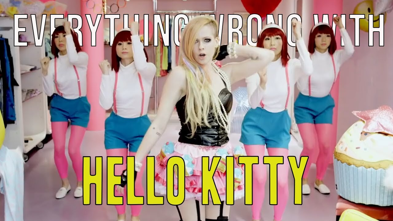"""Everything Wrong With Avril Lavigne - """"Hello Kitty"""""""