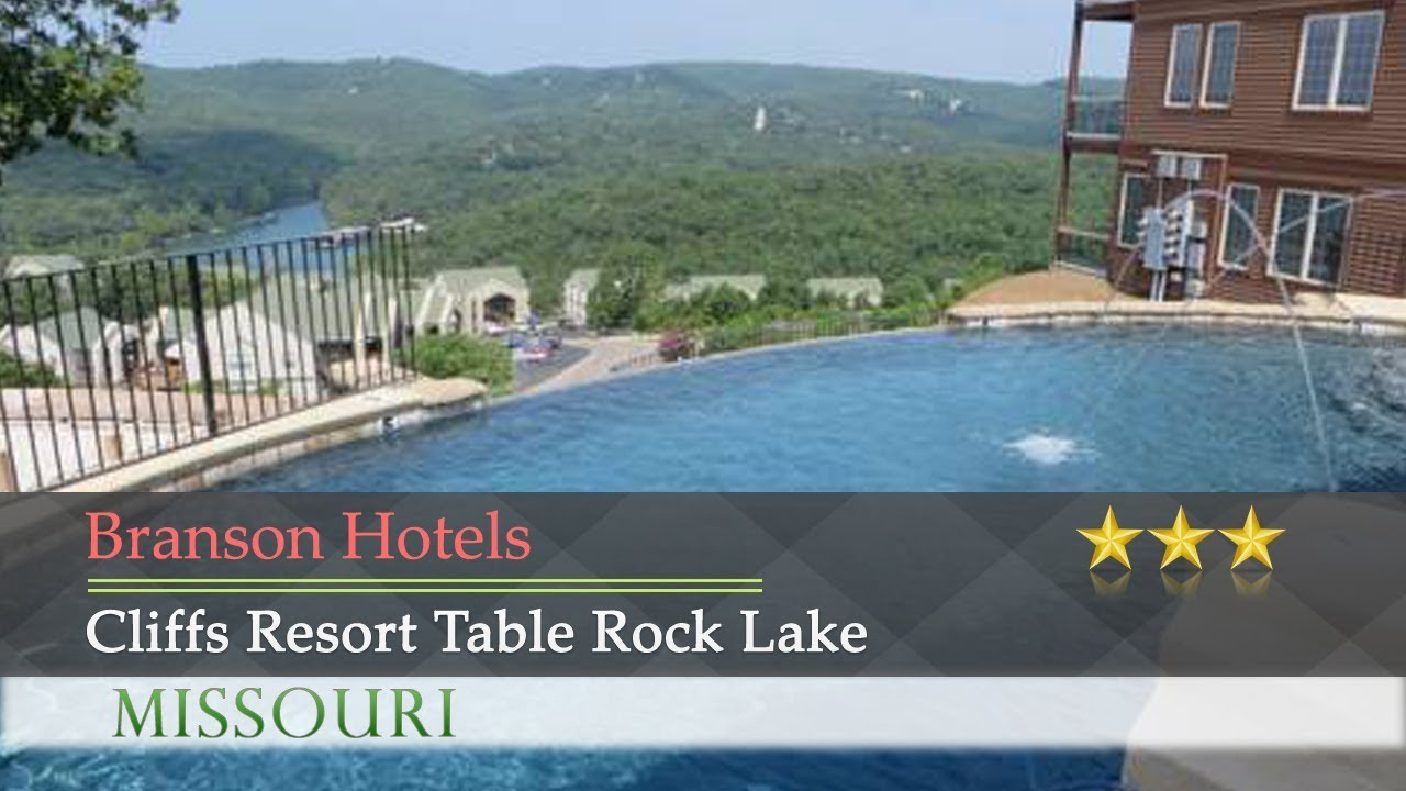 Cliffs Resort Table Rock Lake Branson Hotels Missouri YouTube - Best place to stay on table rock lake missouri