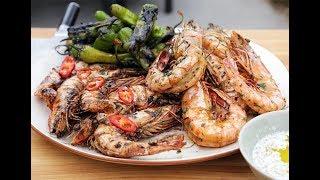 Andrew Zimmern Cooks: Grilled Shrimp