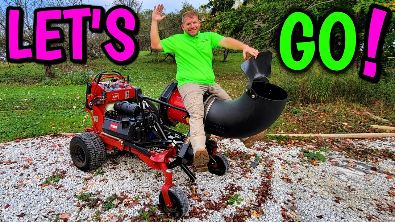 Revealing 2 NEW pieces of EQUIPMENT to dominate FALL CLEAN UPS!