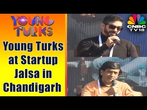 Young Turks at Startup Jalsa in Chandigarh | 150 Entrepreneurs & 50 Investors on a Single Stage