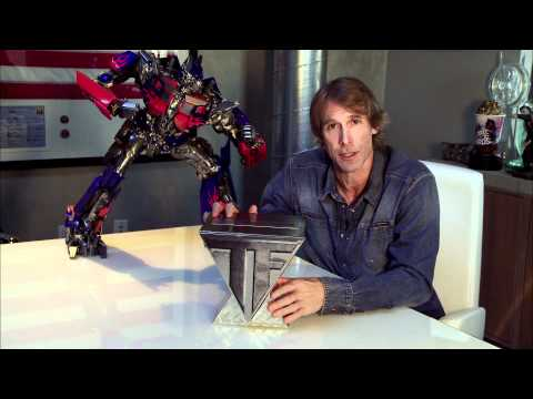 Michael Bay Showcases Transformers Blu-ray Limited Edition Mp3