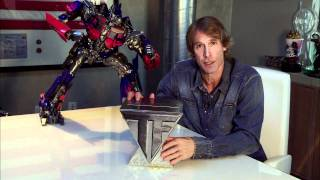 Michael Bay Showcases Transformers Blu-ray Limited Edition