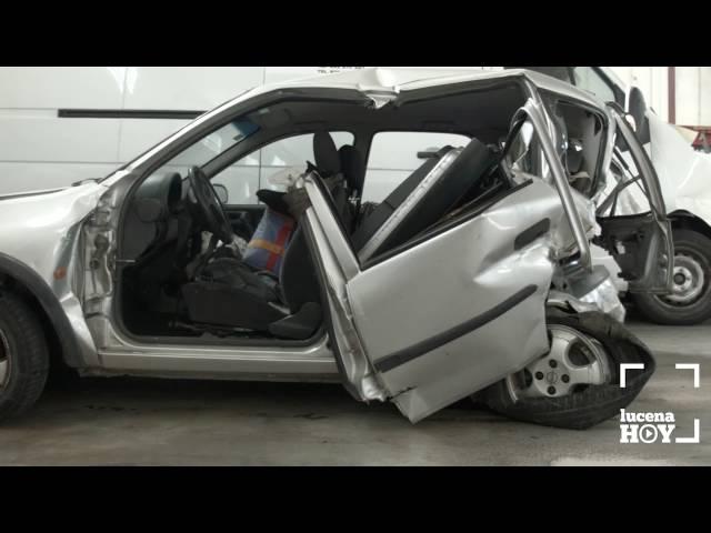 VÍDEO: Una mujer muerta y tres heridos en un accidente de tráfico en la A-45