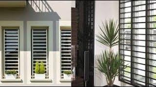 Latest window grill design 2019 | latest window designs
