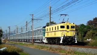 秩父鉄道デキ502牽引 東京メトロ13000系甲種輸送